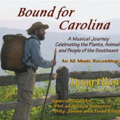 Album cover for Doug Elliott's Bound for Carolina